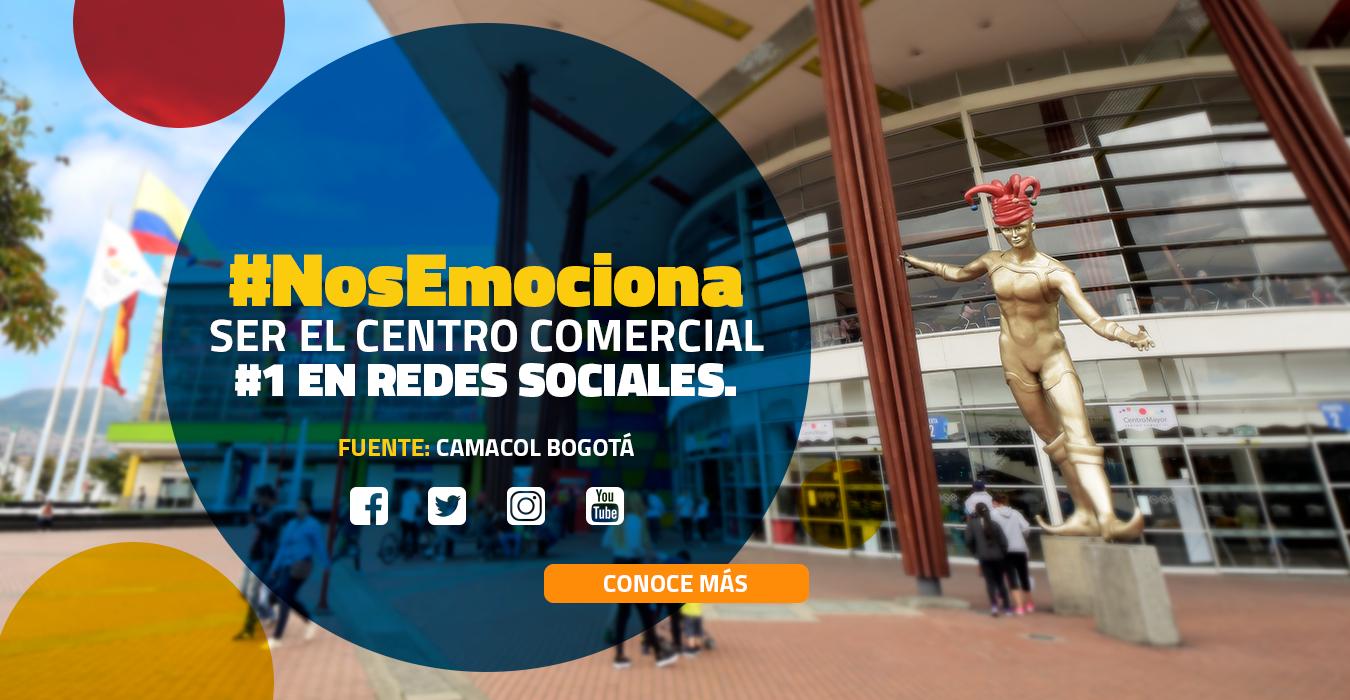 SOMOS EL CENTRO COMERCIAL #1 EN REDES SOCIALES
