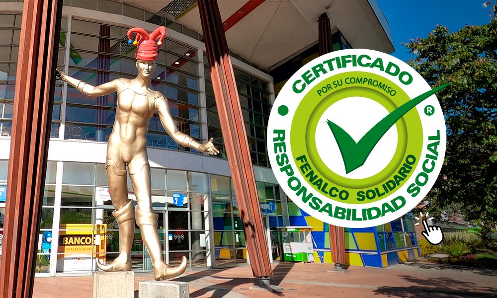 Estamos certificados en Responsabilidad Social