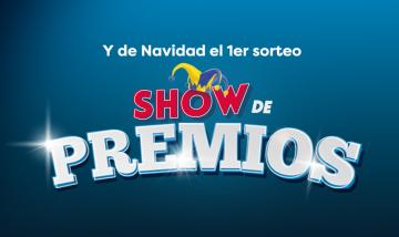 Primer sorteo - Show de Premios