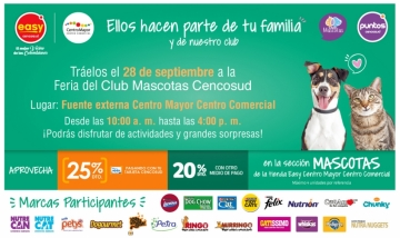 FERIA DEL CLUB DE MASCOTAS CENCOSUD
