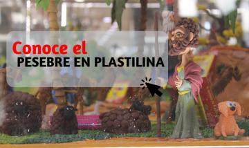 Pesebre en Plastilina