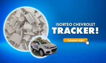Sorteo Chevrolet TRACKER 2020
