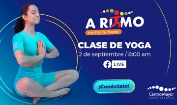 Clase de Yoga - A Ritmo con Centro Mayor