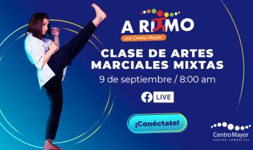 CLASE DE ARTES MARCIALES - A RITMO CON CENTRO MAYOR