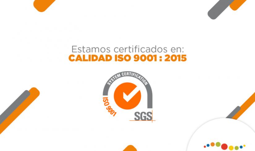 Centro Mayor certificado en ISO 9001:2015