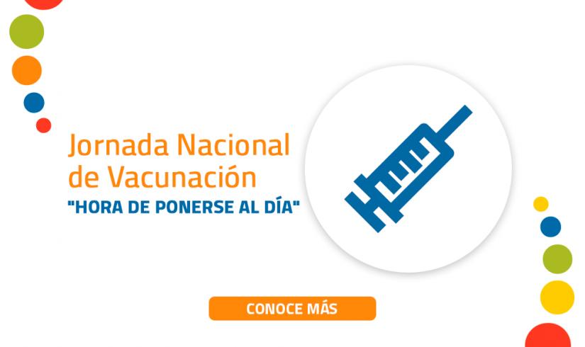 V JORNADA NACIONAL DE VACUNACIÓN