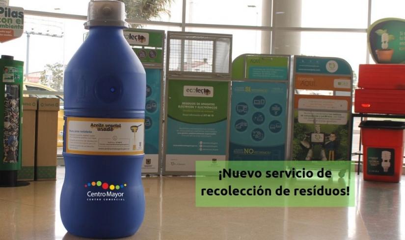 Nuevo punto de recolección para aceite usado