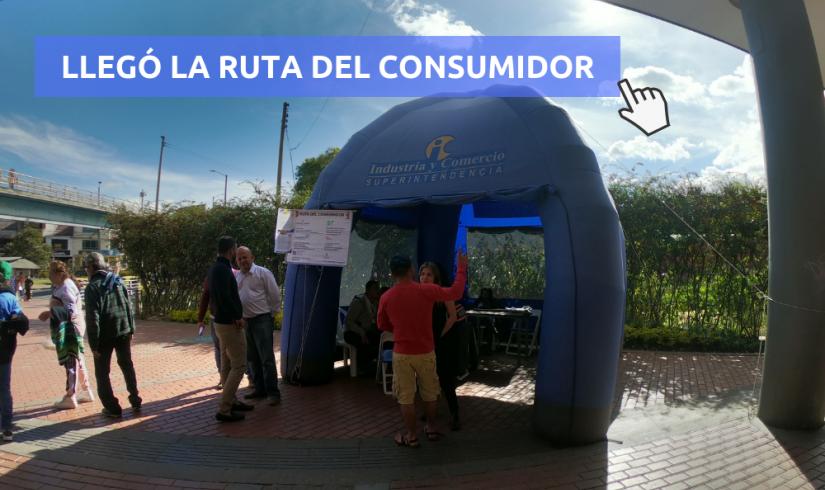 """La """"Ruta del Consumidor"""" llegó a Centro Mayor."""