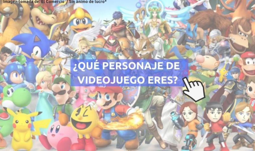 ¿Qué personaje de videojuego eres?