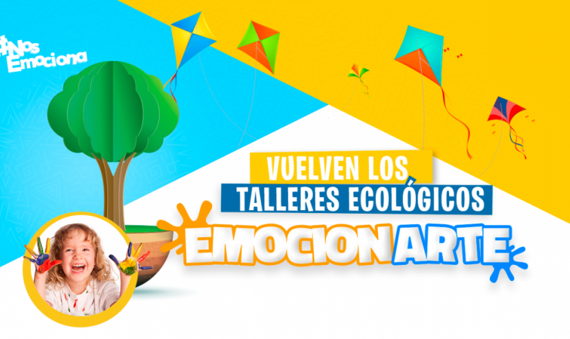 """¡Vuelven los talleres ecológicos """"Emocionarte""""!"""