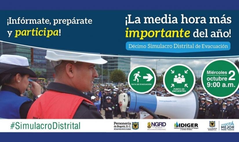 Simulacro Distrital 2019