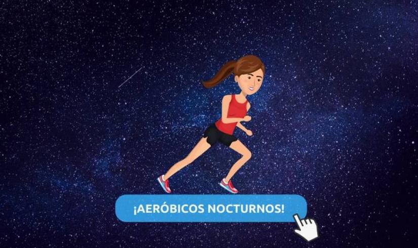 1ER MASTER CLASS - Aeróbicos nocturnos