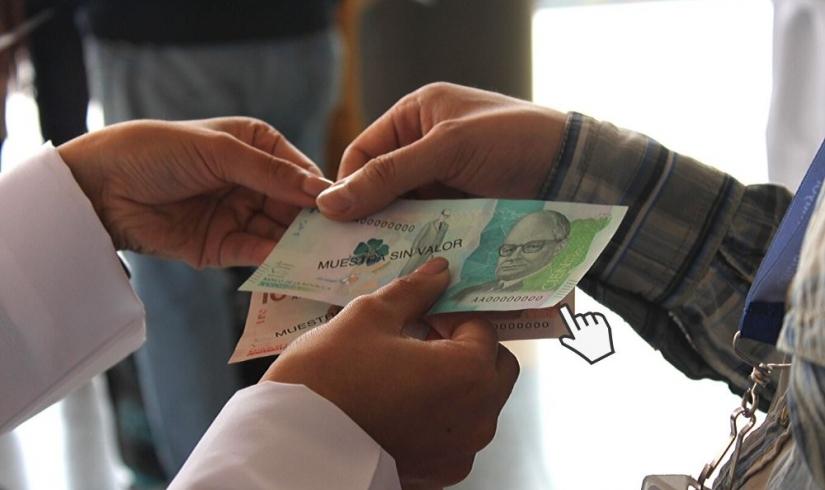 Aprende cómo identificar billetes auténticos