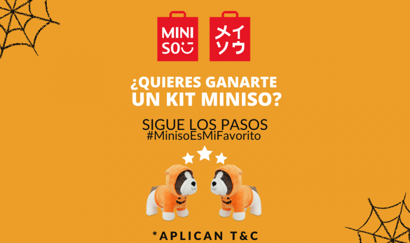 Concurso Halloween miniso y Centro Mayor