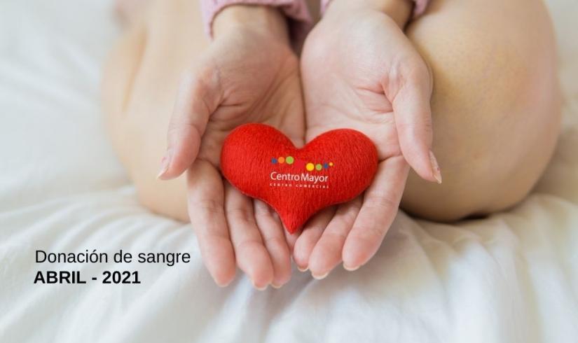 Donación de sangre Abril 2021